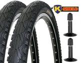 2 x Fahrradreifen Kenda Pannensicher 26 Zoll 26x1.95 50-559 K-Shield inklusive 2 x Schlauch mit Autoventil - 1