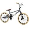 20' BMX deTOX Freestyle Kinder Neu Anfänger ab 130 cm, 7 J., Farbe:grau -