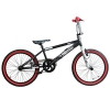20 Zoll BMX Rooster Big Daddy Spoked SPECIAL EDITION Rotor Pegs , Farbe:schwarz/rot - 1