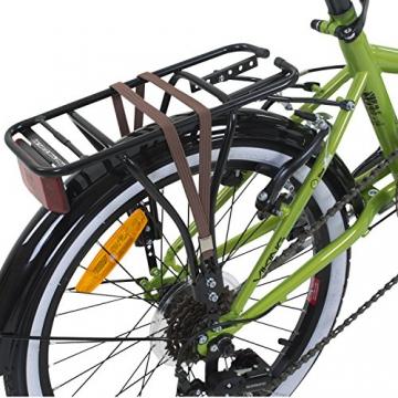 20 Zoll Klapprad Viking Metropolis Fahrrad Faltrad Campingrad, Farbe:Grün - 4
