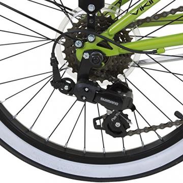 20 Zoll Klapprad Viking Metropolis Fahrrad Faltrad Campingrad, Farbe:Grün - 5