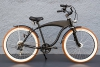 "26"" Beachcruiser Cruiser Fahrrad Shimano 7 Gang Nabendynamo SCHWALBE schwarz -"