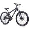 "26"" Zoll ALU MOUNTAINBIKE DIRT BIKE CHRISSON RUBBY mit 24G ACERA schwarz matt 2016 - 1"