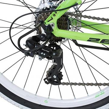 26 Zoll Galano Toxic Mountainbike Hardtail MTB Jugendmountainbike Jugendfahrrad - 4