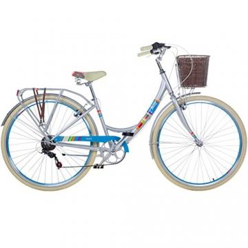 28 Zoll Chill Damenrad Citybike Fahrrad Hollandrad Damenfahrrad 6 Gang, Farbe:metallgrau, Rahmengrösse:19 Zoll - 2