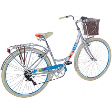 28 Zoll Chill Damenrad Citybike Fahrrad Hollandrad Damenfahrrad 6 Gang, Farbe:metallgrau, Rahmengrösse:19 Zoll - 3