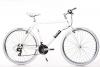 "28"" Zoll Crossbike Alu MIFA Herren Fahrrad MTB Shimano 21 Gang weiss -"