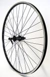 28 Zoll Fahrrad Laufrad Hinterrad Hohlkammerfelge CUT 19 Shimano Deore 610 schwarz 8/9/10-fach für V-Brakes / Felgenbremse - 1