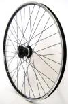 28 Zoll Fahrrad Laufrad Vorderrad Shimano Dynamo DH3N20 schwarz - 1