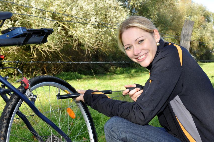 Fahrradschlauch Test