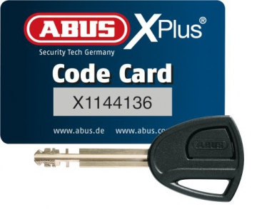 ABUS Faltschloss 6500/85 Bordo Granit X-Plus, Black, 85 cm, 55160 - 3