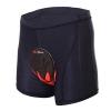 ALLY Fahrradhose mit 3D COOLMAX Sitzpolster Herren Radfahren Fahrrad Unterwäsche Shorts (L) - 1