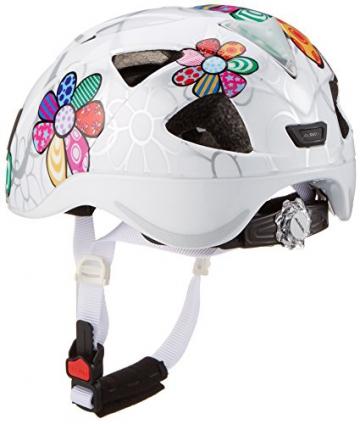 Alpina Kinder Radhelm Ximo Flash, White Flower, 47-51, 9710110 - 2