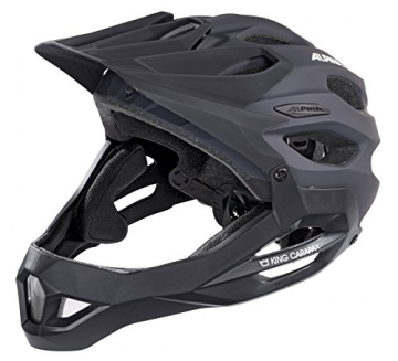 Alpina Radhelm King Carapax, Black, 53-57, 9698130 -