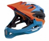 Alpina Radhelm King Carapax, Orange-Blue, Gr. 57-62 - 1