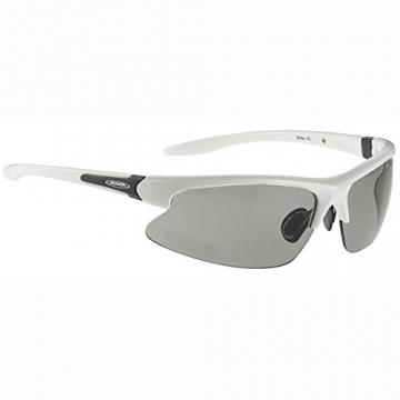 ALPINA Radsportbrille Dribs, weiss, A8371-410 - 1