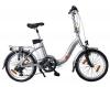 AsVIVA Elektrofahrrad E-Bike 36V Power Pedelec Klapprad, Silber, 20 Zoll, B7 - 1