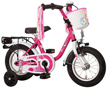 Bachtenkirch Kinder Fahrrad Dream Cat, purpur/weiß, 14 Zoll, 1300411-DC-91 -