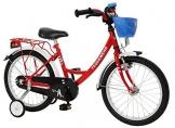 Bachtenkirch Kinder Fahrrad Feuerwehr, rot/weiß, 16 Zoll, 1300432-FW-74 - 1