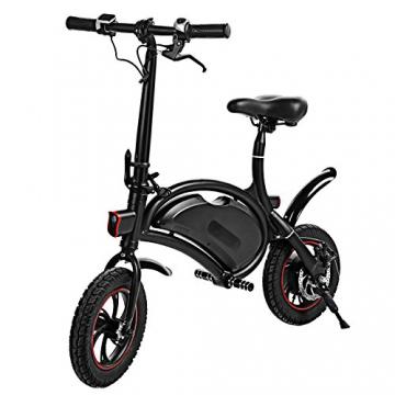 Befied Faltende Elektrofahrrad Wasserdicht Klapprad E-Faltrad App Kontrollierbar E-Bike 30km/h Bluetooth GPS Hinterradbremse Spannung: 350W 36V - 1