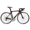 BEIOU® 2016 700C Rennrad Shimano 105 Bike 5800 11S Rennrad T800-M40 Carbon Aero-Rahmen Ultra-light 18.3lbs CB013A-2 (Matte Black&Red, 540mm) - 1