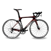 BEIOU® 2016 700C Rennrad Shimano 105 Bike 5800 11S Rennrad T800-M40 Carbon Aero-Rahmen Ultra-light 18.3lbs CB013A-2 (Matte Black&Red, 500mm) -