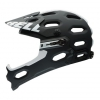 Bell Erwachsene Fahrradhelm Super 2R Mips 16, Mat Black/White Viper, S, 210099004 - 1