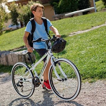 Bergsteiger Kansas 24 Zoll Kinderfahrrad, geeignet für 8, 9, 10, 11 Jahre, Shimano 6 Gang-Schaltung, Mountainbike mit Weißwandbereifung, Jungen-Fahrrad, Mädchen-Fahrrad - 5