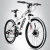 Bergsteiger Kodiak 26 Zoll Mountainbike, geeignet ab 150 cm, Scheibenbremse, Shimano 21 Gang-Schaltung, Vollfederung, Jungen-Fahrrad & Herren-Fahrrad - 1