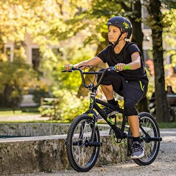 Bergsteiger Ohio 20 Zoll BMX, 360° Rotor-System, Freestyle, 4 Stahl Pegs, Kettenschutz, Freilauf - 7