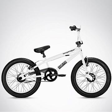 Bergsteiger Tokyo 20 Zoll BMX, Fatbike, 360° Rotor-System, Freestyle, 4 Stahl Pegs, Kettenschutz, Freilauf - 3