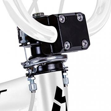 Bergsteiger Tokyo 20 Zoll BMX, Fatbike, 360° Rotor-System, Freestyle, 4 Stahl Pegs, Kettenschutz, Freilauf - 9