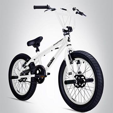 Bergsteiger Tokyo 20 Zoll BMX, Fatbike, 360° Rotor-System, Freestyle, 4 Stahl Pegs, Kettenschutz, Freilauf - 1