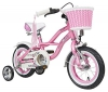 BIKESTAR® Premium Design Kinderfahrrad für coole Kids ab 3 Jahren ★ 12er Deluxe Cruiser Edition ★ Glamour Pink -