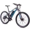CHRISSON 27,5 Zoll E-Bike Mountainbike - E-Weger grau blau 53 cm - Elektro Fahrrad für Herren und Damen - 27 Gang Shimano Altus Kettenschaltung - Pedelec mit Bafang Hinterradmotor 250W, 45Nm - 1
