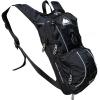 Cox Swain Trinkrucksack mit Airrücken inkl. Helmhalter in schwarz mit Reflektoren und Expander! - 1