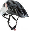 Cratoni Fahrradhelm AllSet, Black/Grey/White Matt, 58-61 cm, 110601B2 - 1