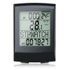 CSL - Fahrradcomputer kabellos | Fahrradtacho/Radcomputer/Tachometer | 13 Funktionen/Temperaturanzeige in °C | Reed-Sensor | inkl. Befestigungsmaterial | Hintergrundbeleuchtung | IP65 - 1