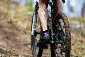 Fahrradsocken werden stark beansprucht