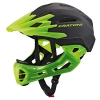 Downhill Helm Fullface Helm Cratoni C-Maniac (black-lucentgreen matt, S-M (52-56 cm)) -