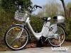 "Elektrofahrrad 250W / 36V E-Bike 26"" Zoll Pedelec Fahrrad mit Motor Citybike (silber) - 1"