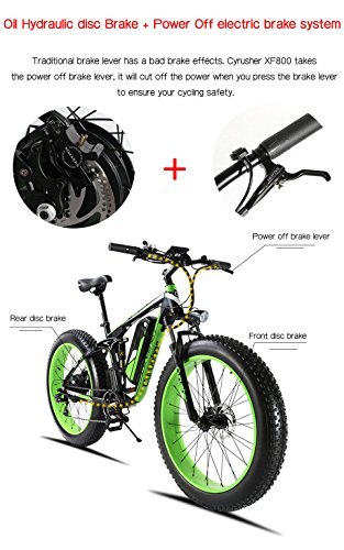 Extrbici XF800, E-Bike,1000W, 48V, 13Ah, Xf800, weiß - 3