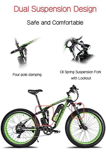 Extrbici XF800, E-Bike,1000W, 48V, 13Ah, Xf800, weiß - 5