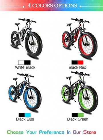 Extrbici XF800, E-Bike,1000W, 48V, 13Ah, Xf800, weiß - 8