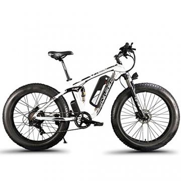 Extrbici XF800, E-Bike,1000W, 48V, 13Ah, Xf800, weiß - 9