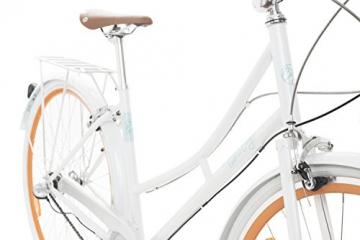 Fabric Cityrad - Hollandrad Damen Fahrrad mit Korb, Shimano Inter 3-Gang, 5 Farben, 14 Kg. (Pearl Whitechapel Deluxe, 45) - 2