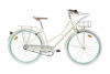 Fabric Cityrad - Hollandrad Damen Fahrrad mit Korb, Shimano Inter 3-Gang, 5 Farben, 14 Kg. (Vanilla Stoky Deluxe, 45) -