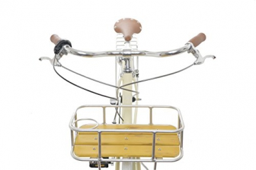 Fabric Cityrad - Hollandrad Damen Fahrrad mit Korb, Shimano Inter 3-Gang, 5 Farben, 14 Kg. (Pearl Whitechapel Deluxe, 45) - 3