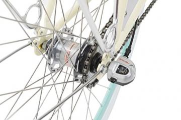 Fabric Cityrad - Hollandrad Damen Fahrrad mit Korb, Shimano Inter 3-Gang, 5 Farben, 14 Kg. (Pearl Whitechapel Deluxe, 45) - 4