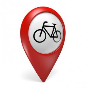 Fahrrad Navi GPS